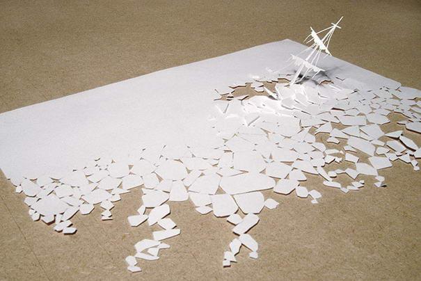 Paper Art By Peter Callesen (2)