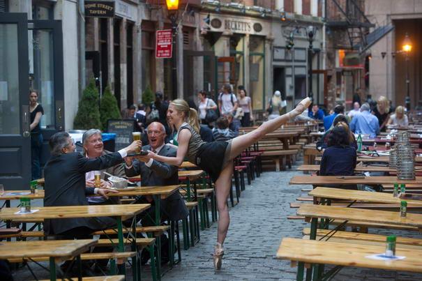 Stone Street NYC - Michelle Joy