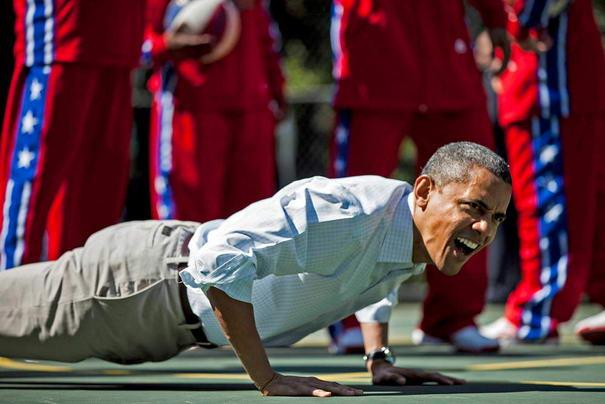 Unforgettable Photos Barack Obama