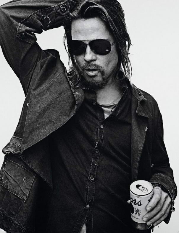 Charismatic Photos Brad Pitt By Steven Klein (1)