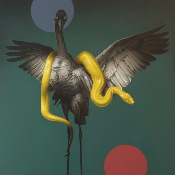 Inspiring Paintings By Eckart Hahn (1)
