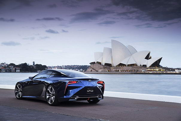 Lexus LF-LC Hybrid Concept (1)