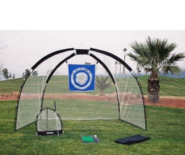 Golf Practice Set Mat Driving Net Chipping Net and Bag