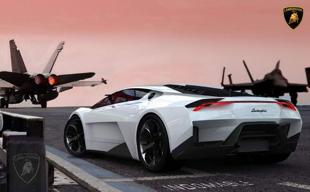 Car Designs Lamborghini Indomable