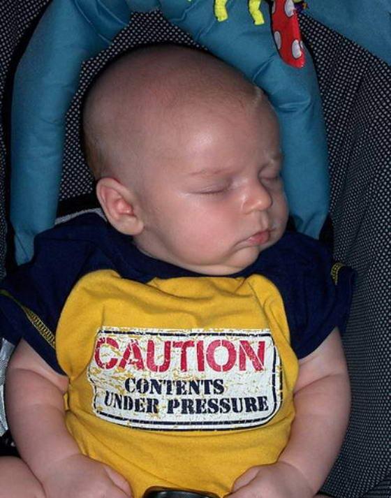Caution Contents Under Pressure
