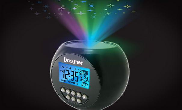 alarm clocks Dreamer Illuminated Projector Clock