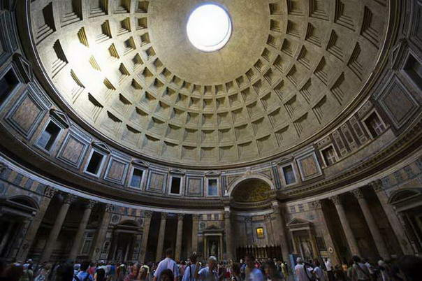 Tourist Attractions The Pantheon