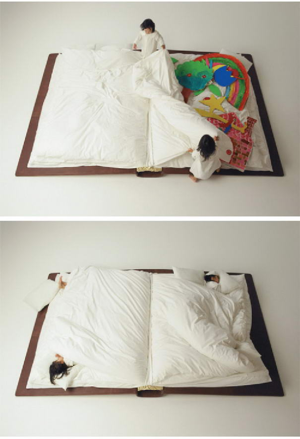 Funky Beds Book bed