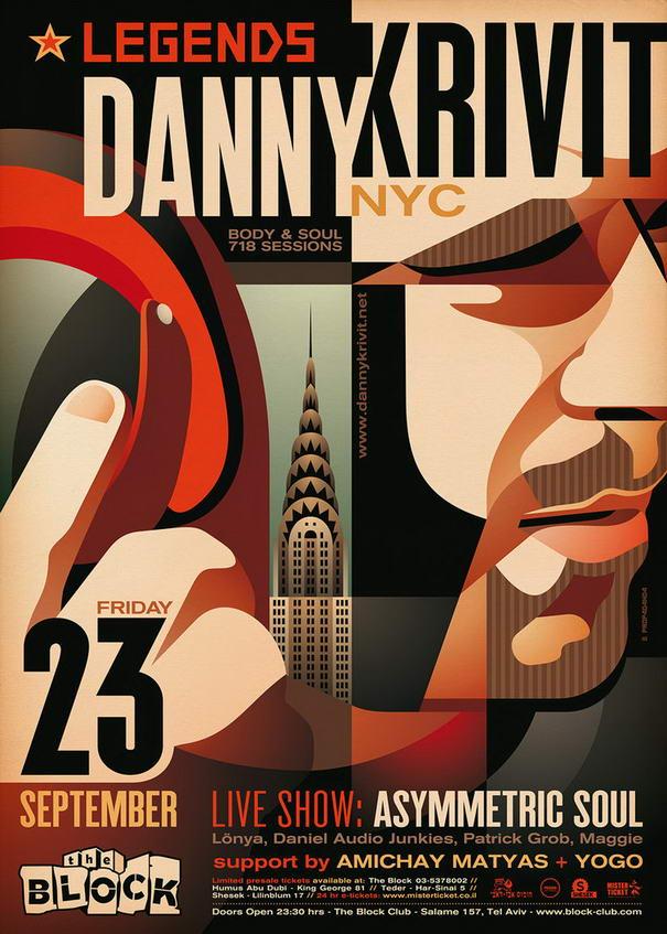 Flyer Designs Danny Krivit
