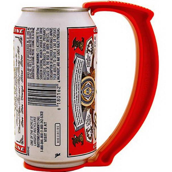 Instant Beer Stein Can Grip Handle