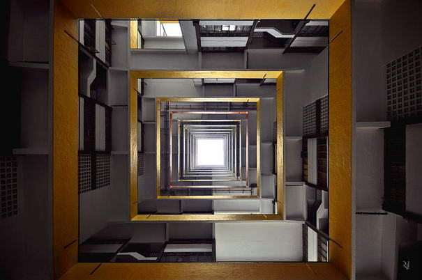 Perspective Photography Vertical Horizon By Romain Jacquet-Lagreze (3)