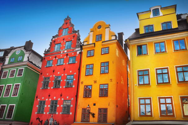 Colorful Cities Gamla Stan