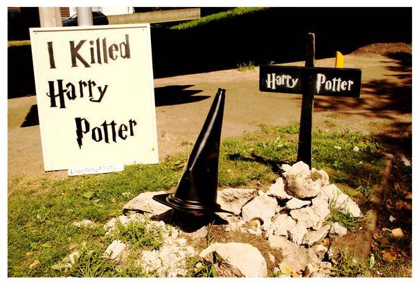 LaDamenRouge killed Harry Potter