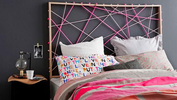 Rope design bedhead