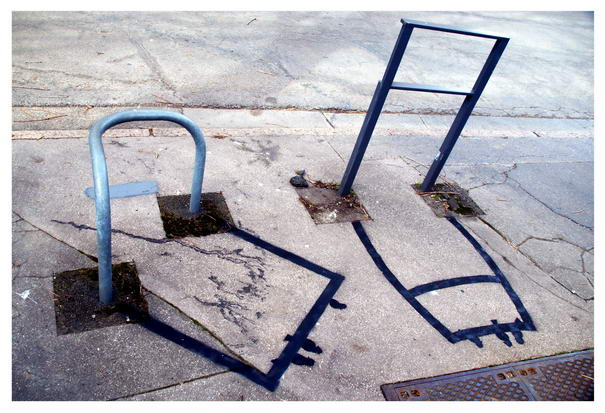 Street Art Examples Shadow Disturbance