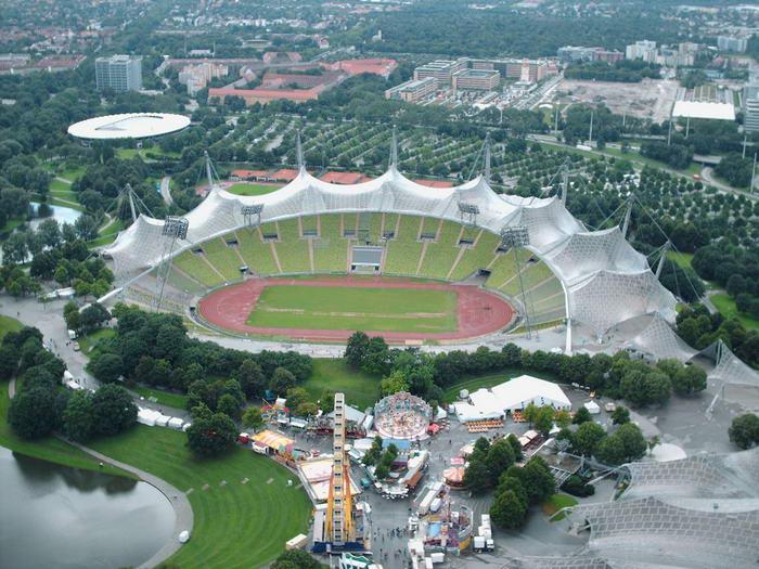 The Olympiastadion Munich