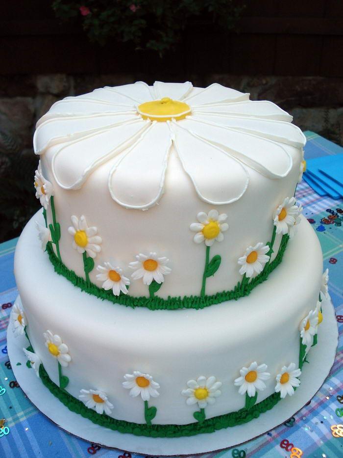 Daisy Cake by cbertel