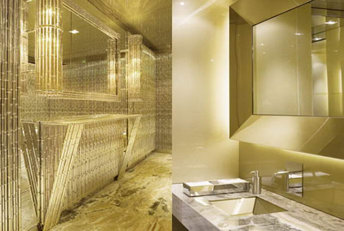 Dolce and Gabbana Gold Room