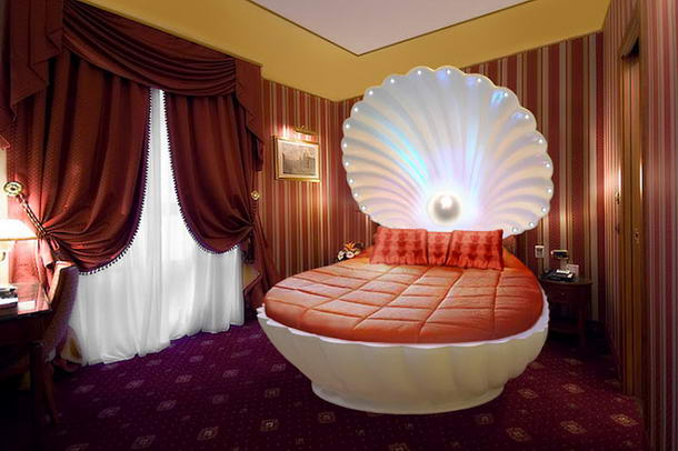 Bed Designs Shell Bed