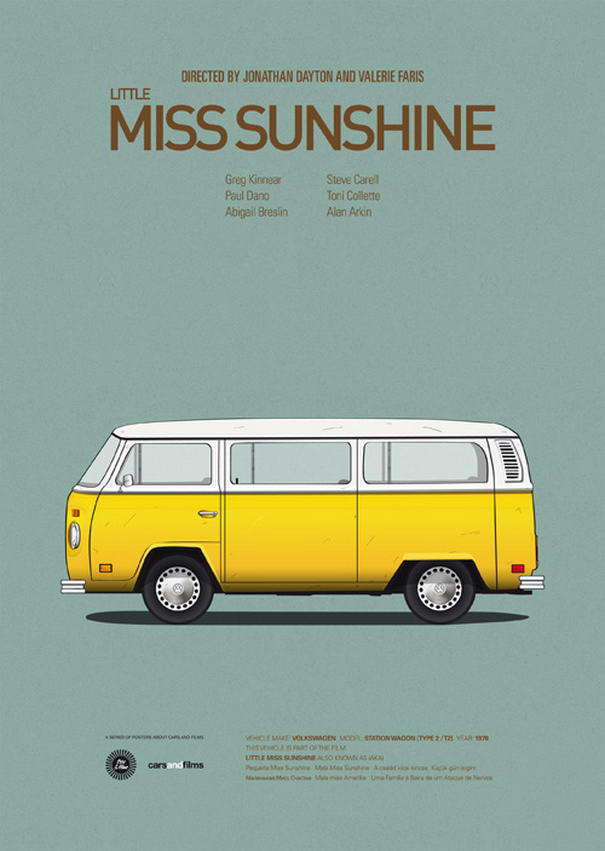 Iconic Movies Little Miss Sunshine