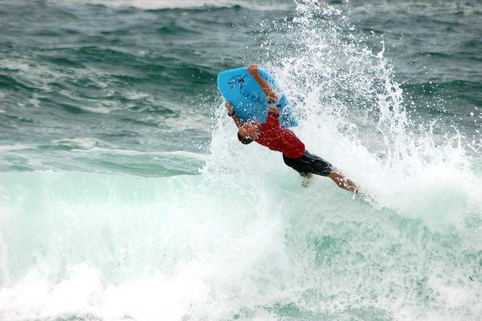 Water Sports Body Boarding by Ciannella