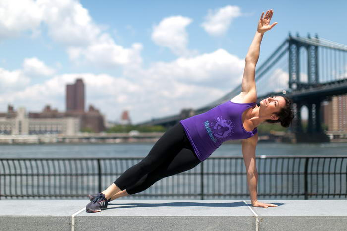 Simple Exercises Side Plank