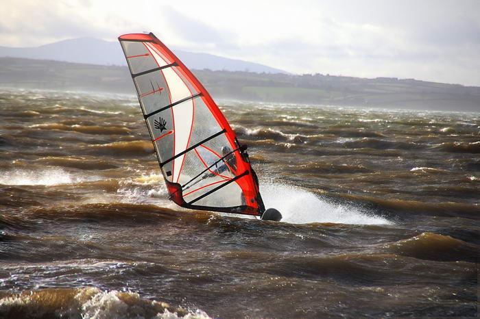 Windsurfing by willg