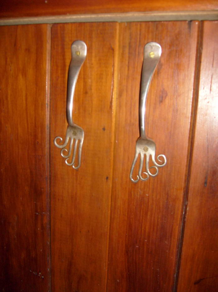 Innovative Fork Door Handles