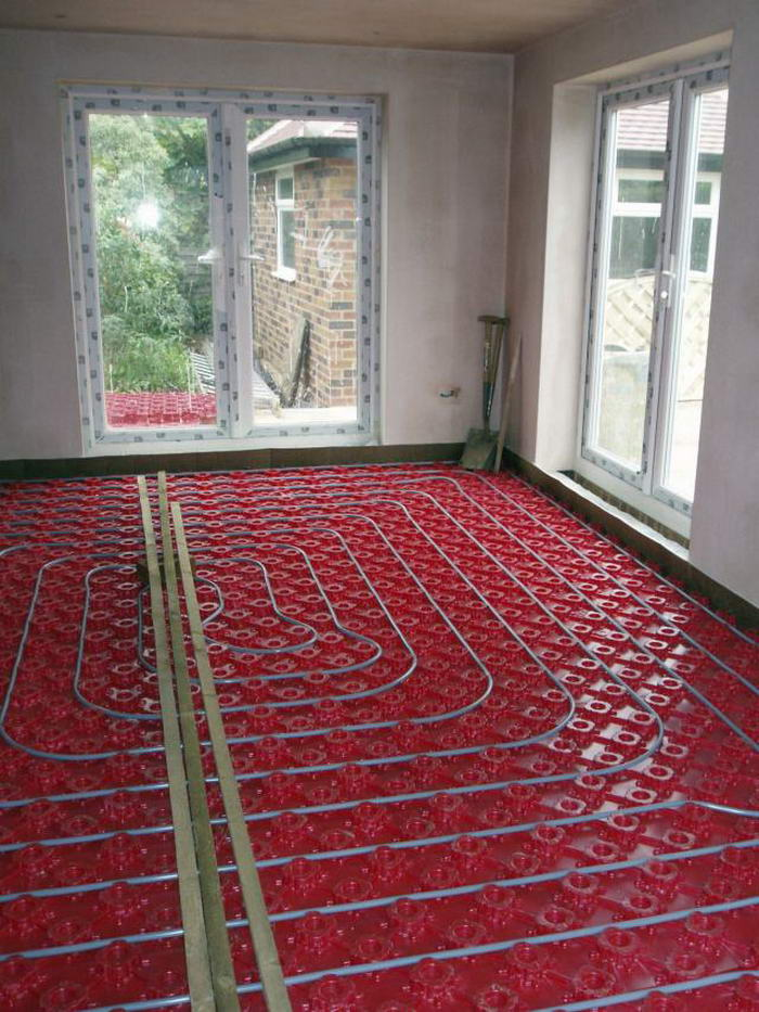 Heated Flooring