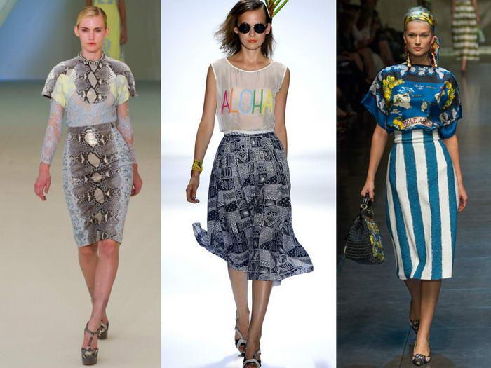 Calf-Length Skirts