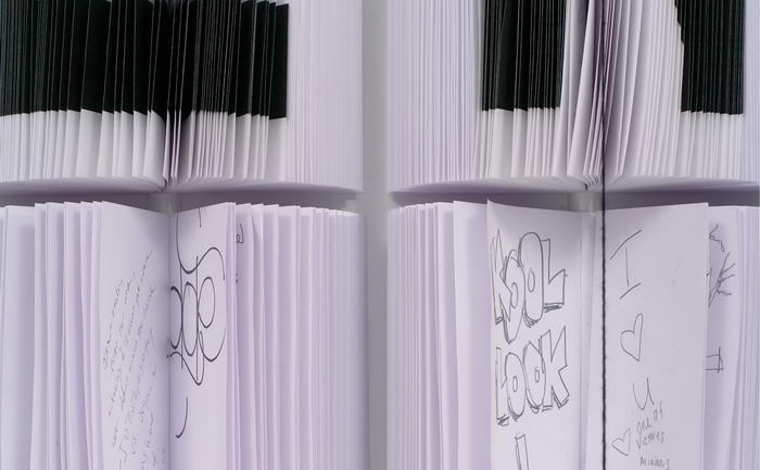 Deitch Notebook Wall (1)