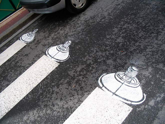 Street Art By Roadsworth (1)
