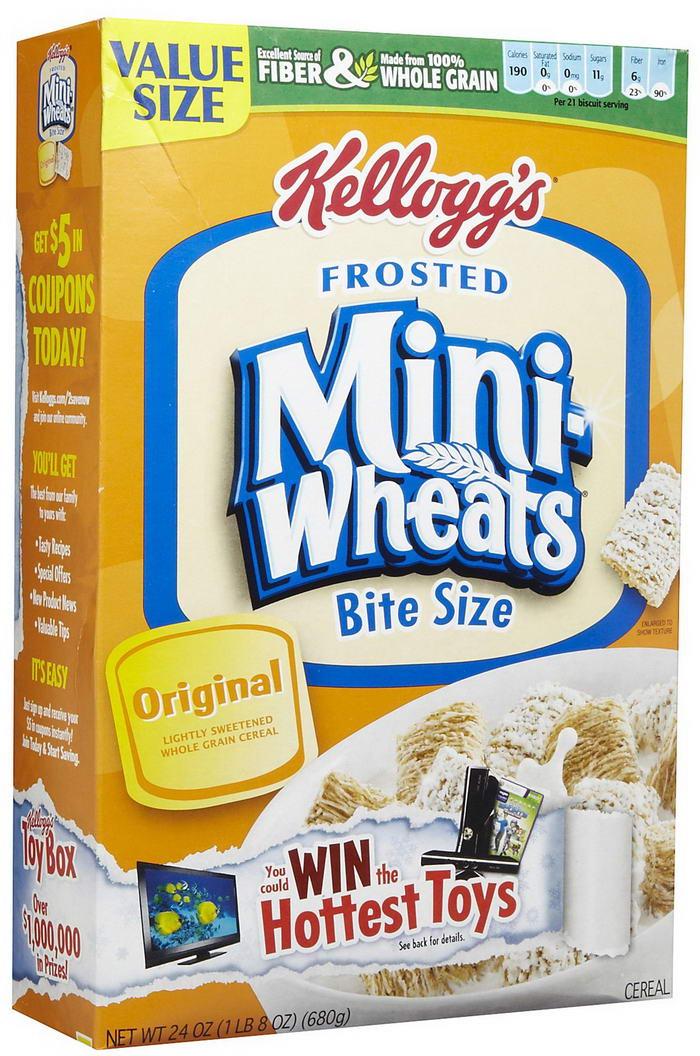Kellogg Frosted Mini Wheats
