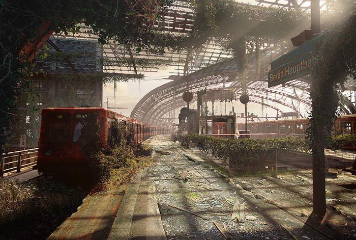 Berlin Hauptbahnhof - After