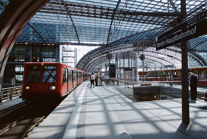 Berlin Hauptbahnhof - Before