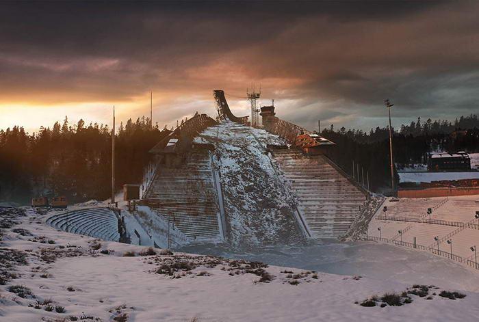 Holmenkollen Ski Slope - After