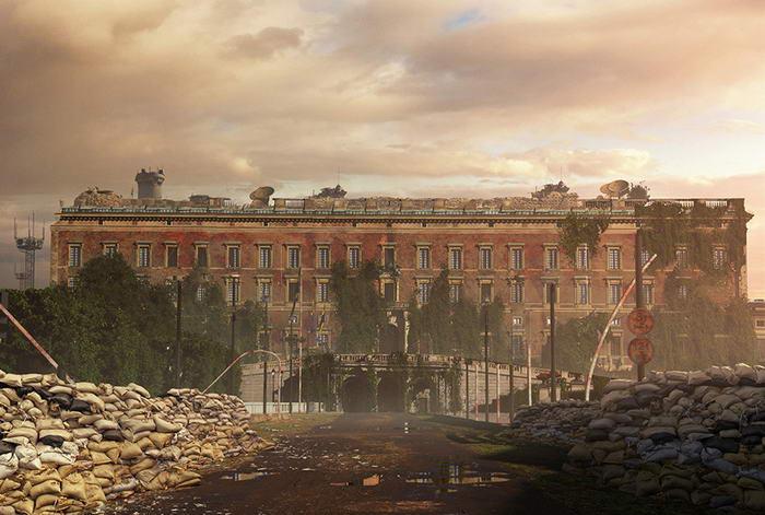 Royal Palace - After