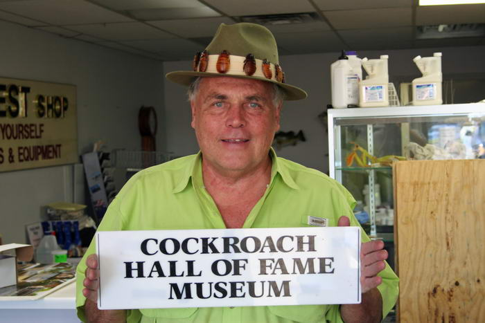 Cockroach Hall of Fame Museum
