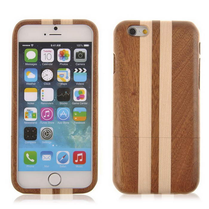 Maple Wood Protective Hard Case for iPhone 6