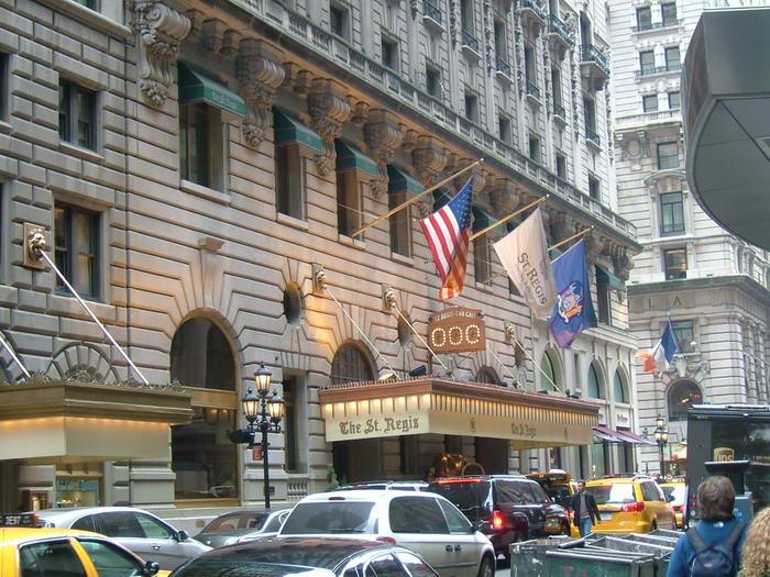 St Regis Hotel New York