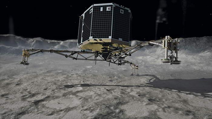 Rosetta's Philae_touchdown