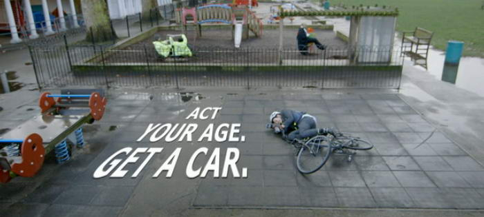 Act Your Age Get a Car