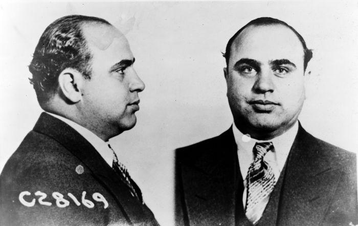 Al Capone Mugshot CPD