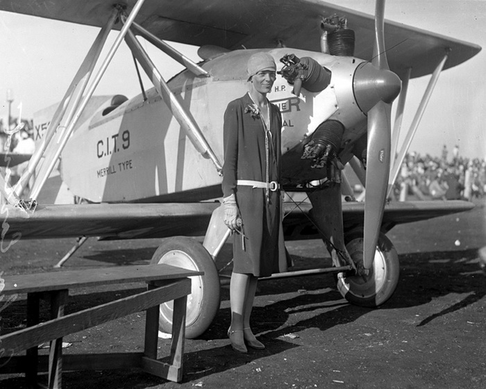 Amelia Earhart circa 1928