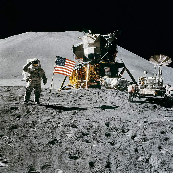Apollo 15 flag