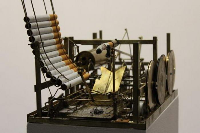 Automatic Smoking Machine