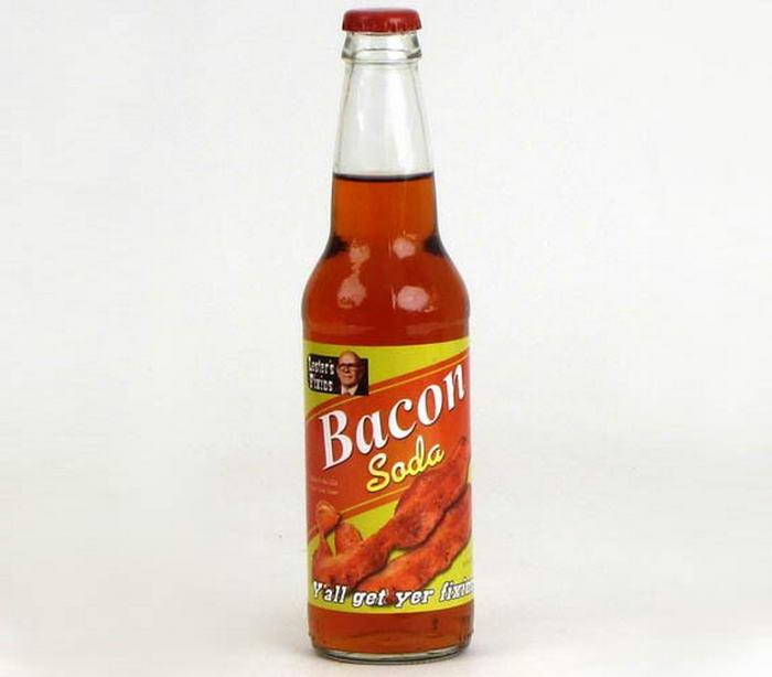 Bacon flavored soda