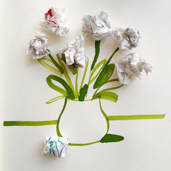 Bouquet of abandoned ideas