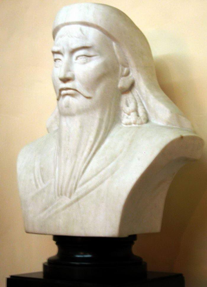 Bust of Genghis Khan