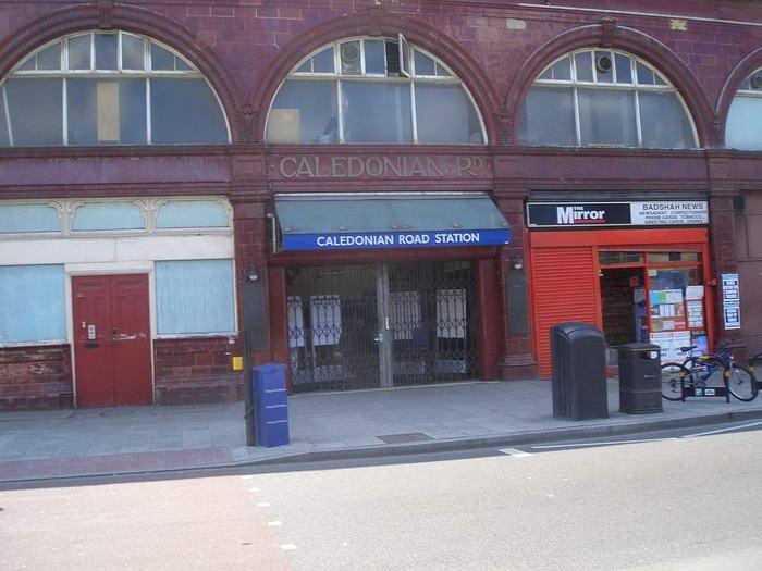 Caledonian Road tube station closed
